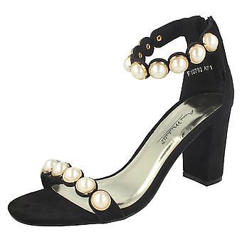 Dames Anne Michelle Pearl Trim sandalen