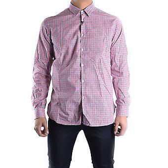 Massimo Rebecchi Ezbc214002 Men's Red Cotton Shirt