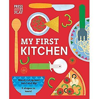 Mijn eerste keuken (druk op & spelen) [Board Book]