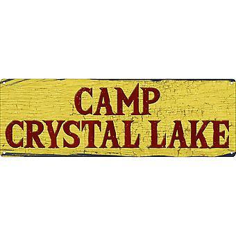 Grindstore Camp krystal sø Slim tin tegn