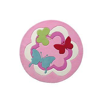 Esprit mariposa fiesta Circular alfombra 3813 01