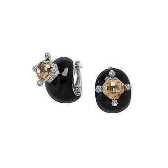 Belle Etoile Black Corona Earrings 03020910501