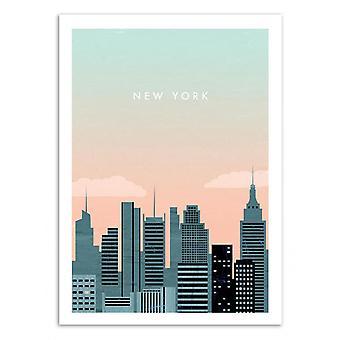 Art-Poster - New York - Katinka Reinke