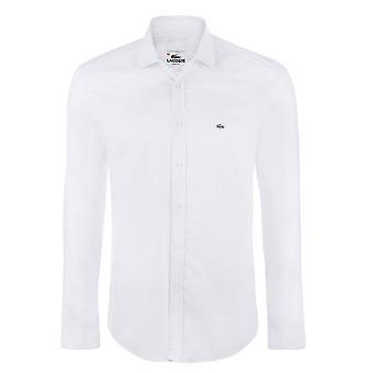 لاكوست أبيض قميص رجالي