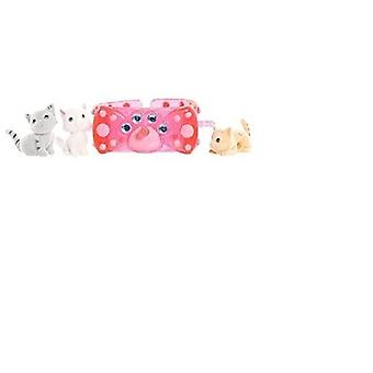 Kitty Charm Armband Set (rosa) - Kitty in meiner Tasche