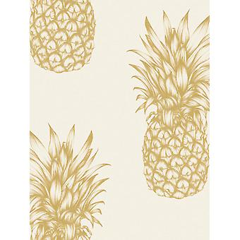 Tropici Copacabana Ananas Wallpaper Arthouse