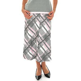 EUGEN KLEIN Eugen Klein Pink And Grey Check Skirt 4934 92129 83