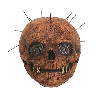 Bristol Neuheit Unisex Erwachsene Schädel Pin Latex Maske