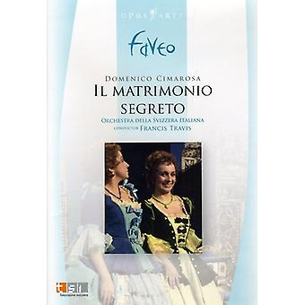 D. Cimarosa - Cimarosa: Il Matrimonio Segreto [DVD Video] [DVD] USA import