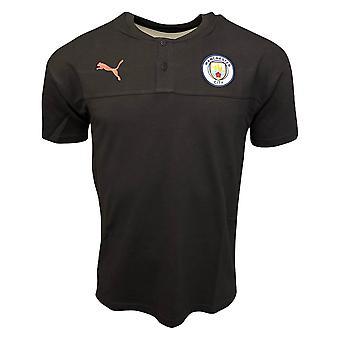 2019-2020 Manchester City Puma Casual Performance-pikeepaita (asfaltti)