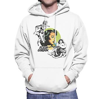 Flash Gordon Dale Montage Men's Hooded Sweatshirt