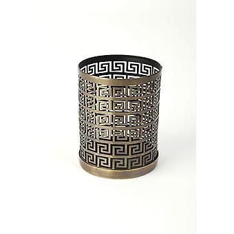 Lantern table Antique Gold H10 cm