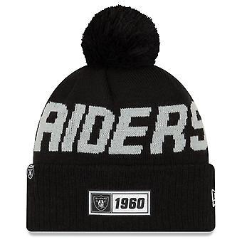 New Era Sideline Road 2019 Bommel Hat Oakland Raiders