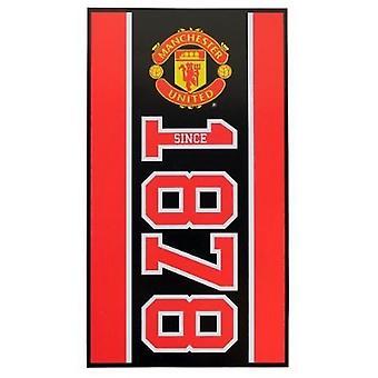 Manchester United FC założona ręcznik
