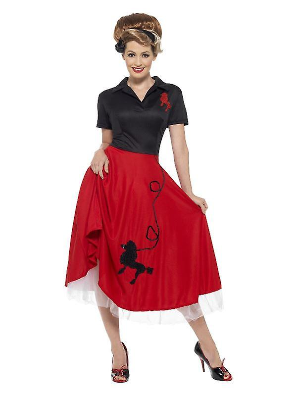 Womens 1950s sottoveste Fancy Dress Accessory