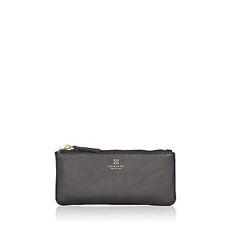 Lorton Small Leather Pouch in Black