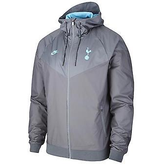 2019-2020 Tottenham Nike Authentic Windrunner jasje (grijs)