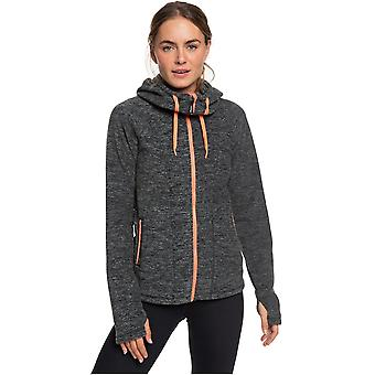 Roxy Electric Feeling 3 Zipped Hoody in Charcoal Heather