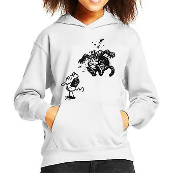 Krazy Kat Surprise Jump Kid's Hooded Sweatshirt