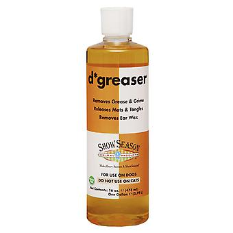 Showseason D-Greaser Grease & Grime Removing Pet Shampoo for Dogs