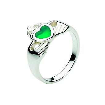 Kit Heath Heritage Heritage Celtic Stone Claddagh Ring 1280GA
