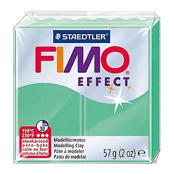 STAEDTLER FIMO Effect 8020-506 forno endurecimento modelagem argila, 57 g-verde jade