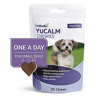 Lintbells YuCALM ONE-A-DAY Small Chewies For Dogs, Pack of 30 Chews, 1-Month Supply