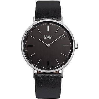 M & M Germany M11870-445 Basic 40 men's Watch