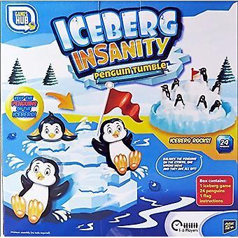 Ijsberg krankzinnigheid Penguin tuimelen spel