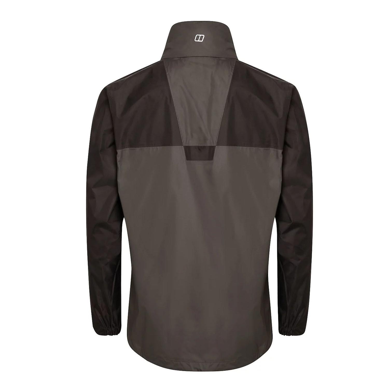 Berghaus Kinglas Shell Mens Waterproof Full Zip Hooded Jacket Coat Grey