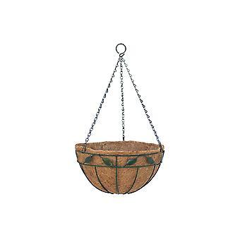 Garden Pride Hanging Basket - Leaf Design