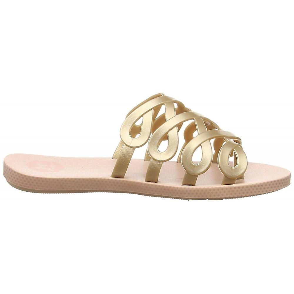 Zaxy Infinity Flat Slip On Jellie Flip Flop Sandal
