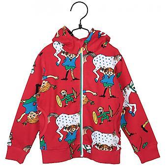 Pippi Langstrømpe Monk's jakke lystig rød 86 cl