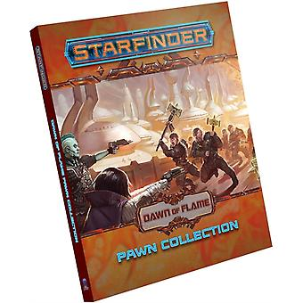Starfinder Pawns Dawn of Flame Pawn Collection by Staff & Paizo