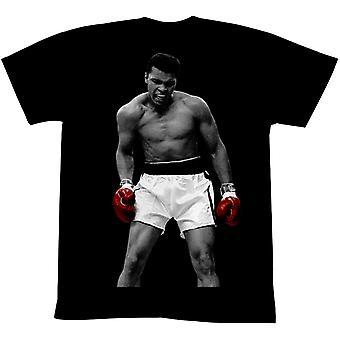 Americká klasika Muhammad Ali Opäť T-Shirt - Čierna