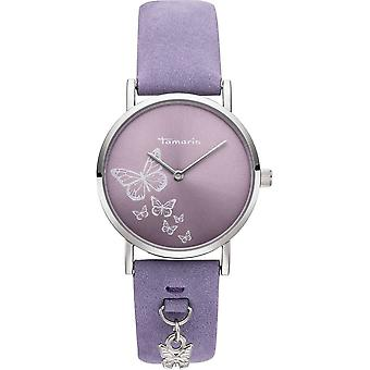 Tamaris - Wristwatch - Bente - DAU 34mm - Silver - Ladies - TW081 - Silver Purple