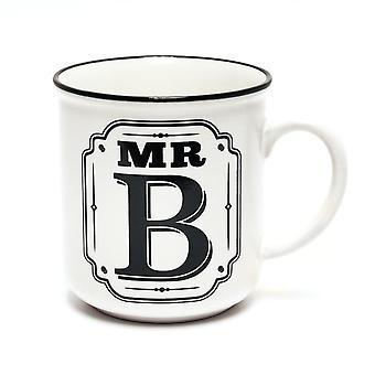 History & Heraldry Alphabet Mugs-mr B