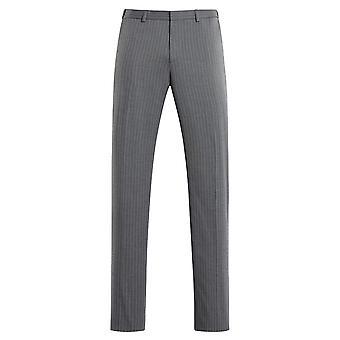 Allthemen Men 's Pinstriped Casual Suit Pants Straight Fit Calças