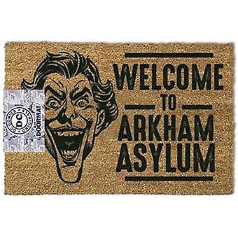 Dc comics - the joker welcome to arkham asylum doormat