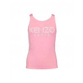 Kenzo Kids Logo Strap Vest Top