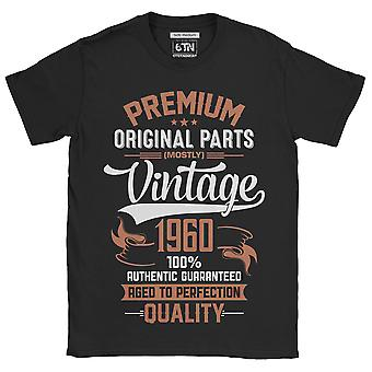 60th birthday t shirt 1960 original parts aged to perfection gift idea novelty funny