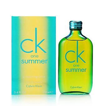 Ck ein Sommer von calvin klein 3,4 oz Eau de Toilette Spray 2014 limitierte Auflage