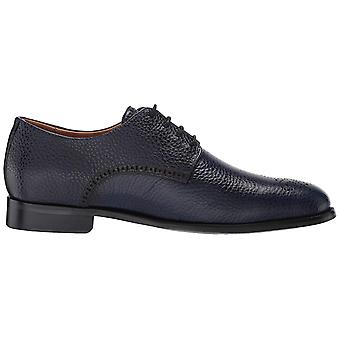 MARC JOSEPH NEW YORK Men's Leather Oxford Lace-Up Wingtip Dress Shoe,