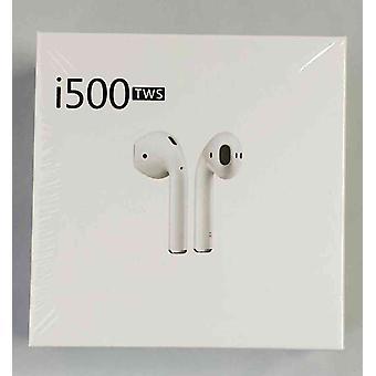 I500 TWS Bluetooth 5.0 אוזנייה אוזניות, הגהה אלחוטית, איכות HD-iOS, דמוי אדם