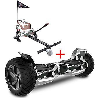 Right Choice Neue Off-Road Hoverboard, Segway Elektroroller mit Hoverkart und Bluetooth