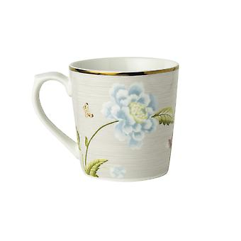 Laura Ashley Mug, Cobblestone Pinstripe