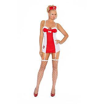 Elegant Moments Sexy Flirty Nurse Halloween Costume