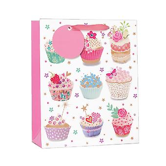 Simon Elvin Cupcakes Gift Bags (Pack Of 6)