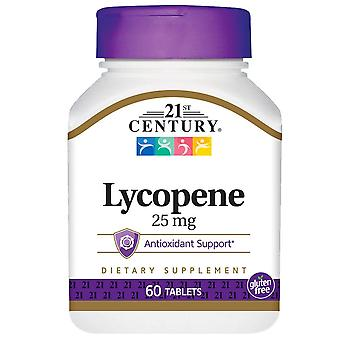 21St century lycopene, 25 mg, tablets, 60 ea