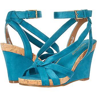 Aerosoles kvinnors mode plysch wedge sandal